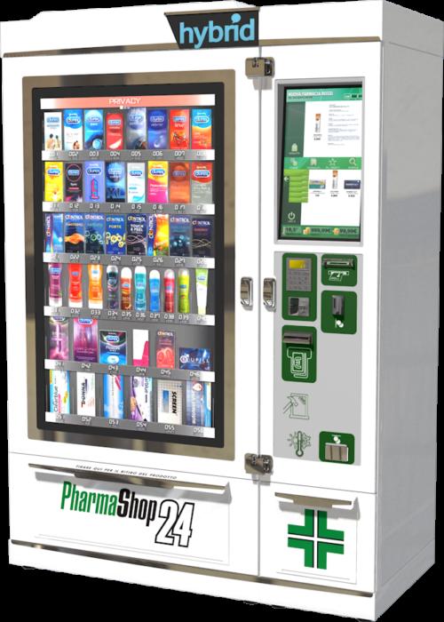 PS24 distributore automatico farmacia Hybrid